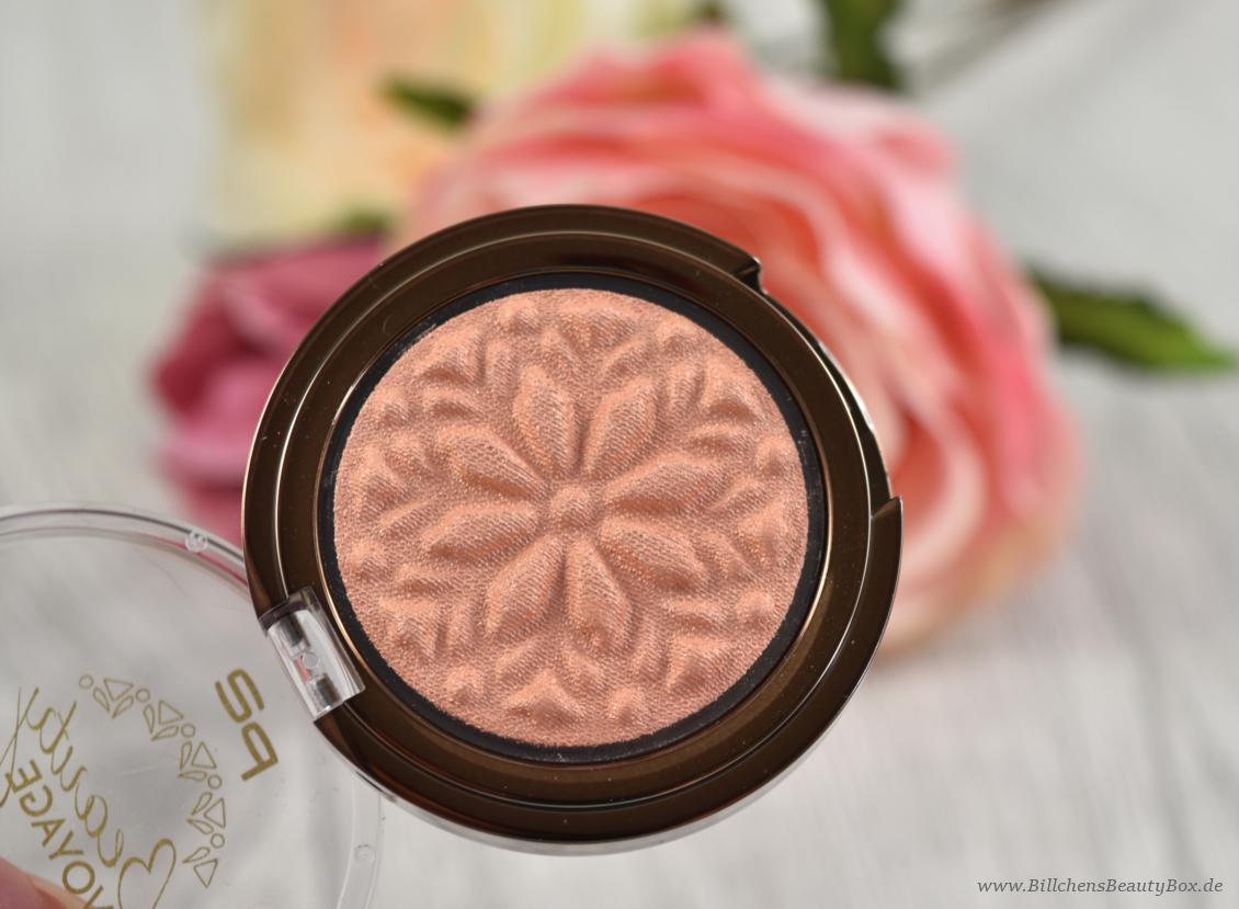 p2 cosmetics - Beauty VOYAGE Limited Edition - moroccan love eye shadow - mesmerising sun