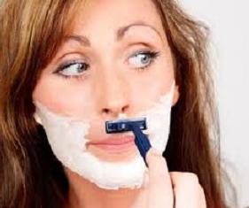 kumis wanita