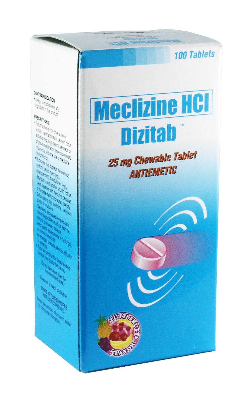 Dizitab (Mecliczine HCl)