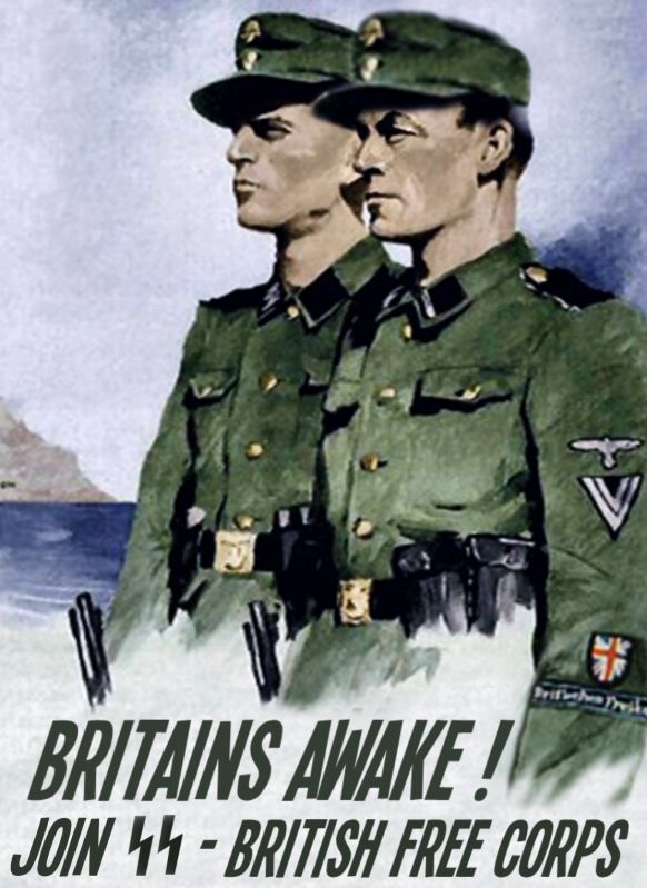 Nazi SS British recruitment worldwartwo.filminspector.com
