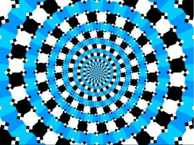 Optical Illusion-Concentric circles