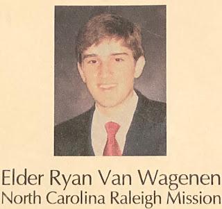 Ryan Van Wagenen North Carolina PCF