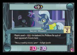 My Little Pony Secret Mission Rock N Rave CCG Card