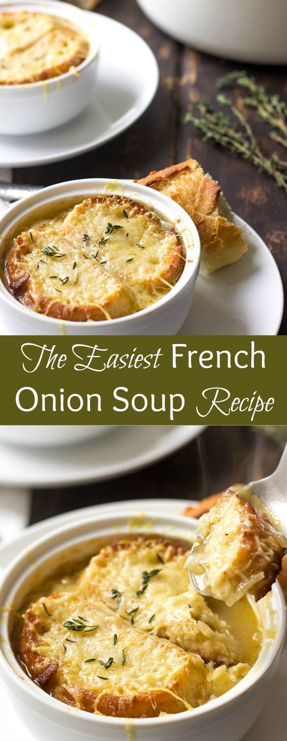 ★★★★★ 5 Review : EASY FRENCH ONION SOUP RECIPE (SO GOOD) #french #frenchfood #onion #onionsoup #soup #souprecipes #easysoprecipes