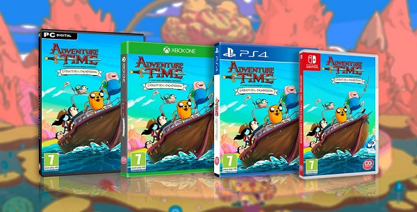 Hora De Aventura Nuevo Juego Para Nintendo Switch Anime Manga Y Tv