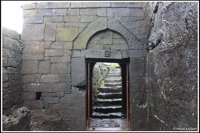 Entrance Gate of Chavand Fort