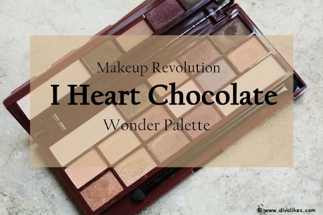 Makeup Revolution I Heart Makeup Wonder Palette I Heart Chocolate Review