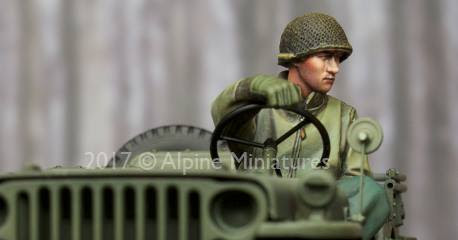 Three new releases of WWII GI's in 35th scale from Alpine Miniatures