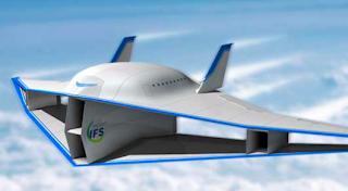 diseño aeronáutico futurista capaz de eliminar el estampido sónico