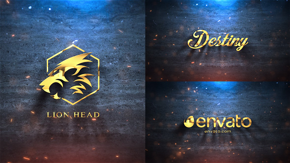 Silver Gold Logo Reveal Free Download After Effects Templates