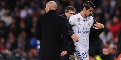Zidane : Semoga Sukses Morata, Kecuali Saat Melawan Madrid