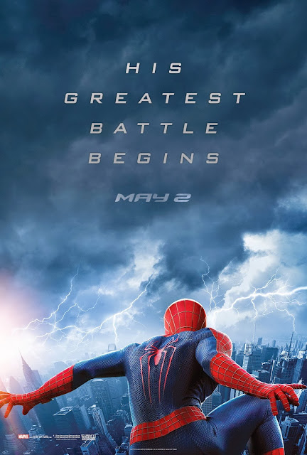 The Amazing Spider-Man 2 Teaser One Sheet Movie Poster - His Greatest Battle Begins May 2