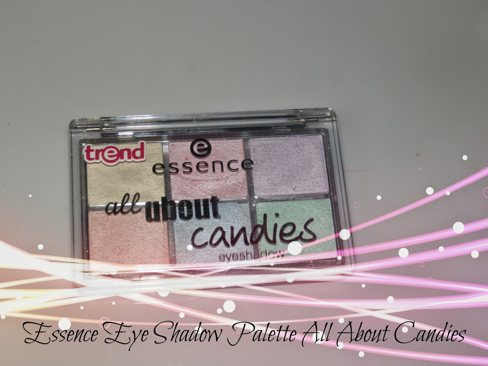 Essence Eye Shadow Palette All About Candies