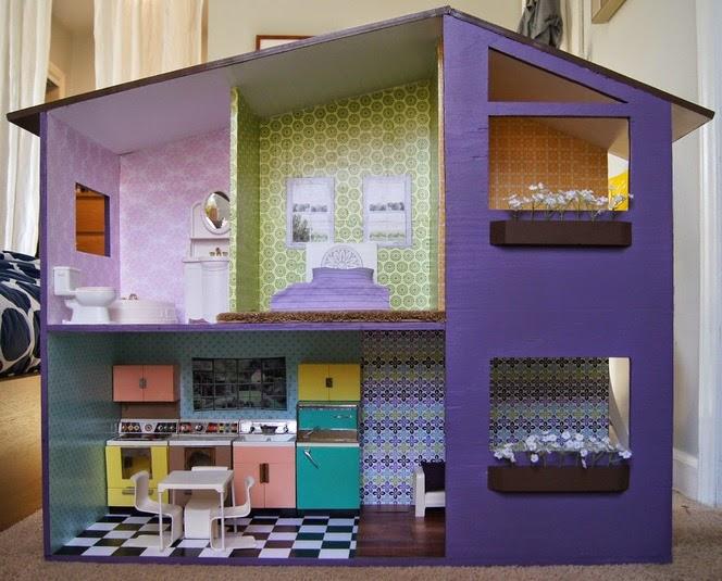 Maisons De Poupees Quelques Inspirations De Creas