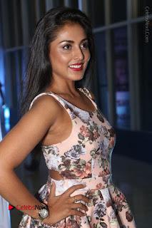 Actress Madhu Shalini Stills in Floral Short Dress at RGV Shiva to Vangaveeti Event  0068.JPG