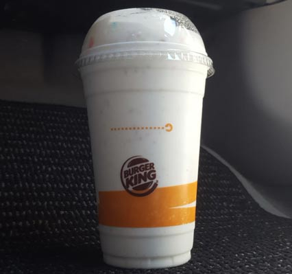 On Second Scoop Ice Cream Reviews Burger King Lucky Charms Shake