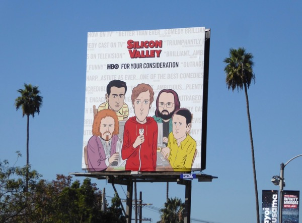 Silicon Valley season 4 FYC billboard