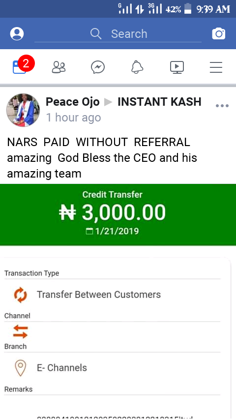 PROOFS FROM MEMBERS OF INSTANT KASH INCOME PROGRAM THAT WILL