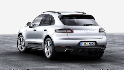 New 2016 Porsche Macan R4 rear Hd image