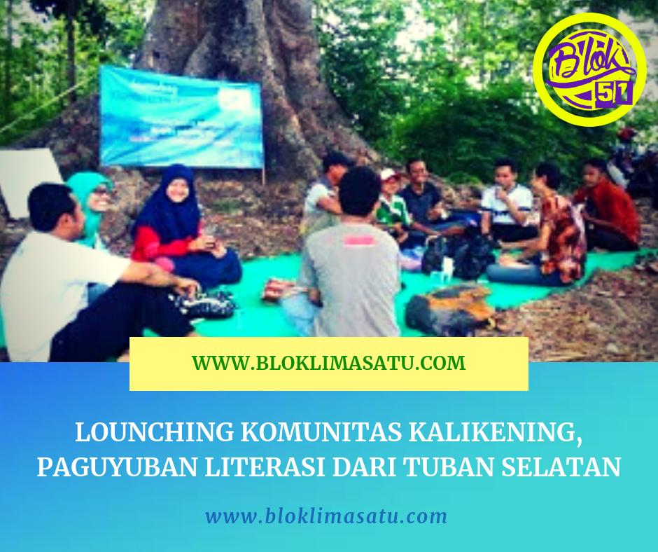 Lounching Komunitas Kali Kening Bangilan - #kalikening #komunitas #komunitasliterasi #literasi #literasituban #literasibangilan #literasijawatimur #literasijatim