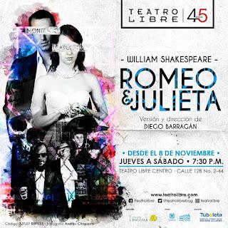ROMEO Y JULIETA 2018 | Teatro Libre del Centro