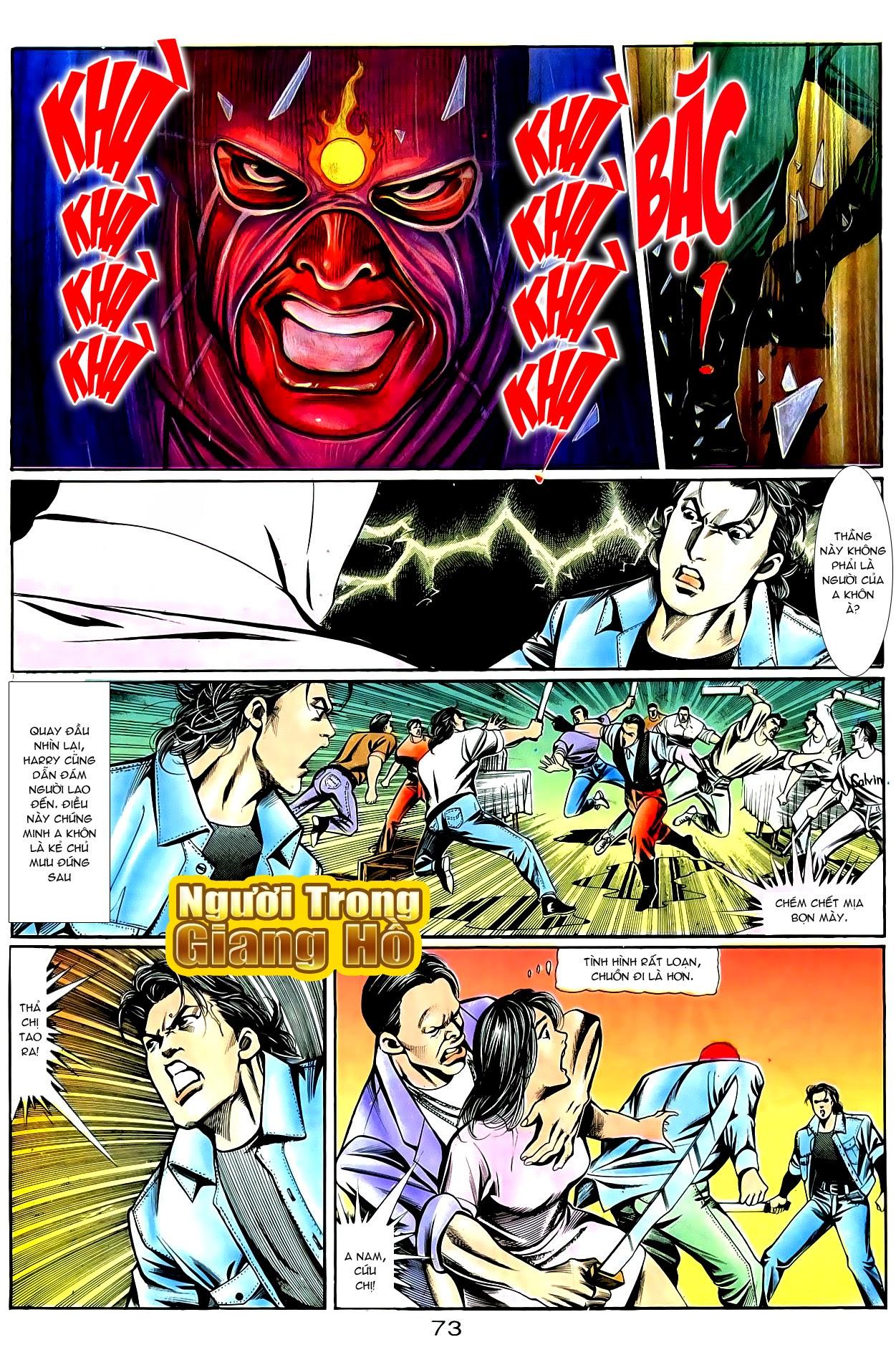 Người Trong Giang Hồ chapter 86: săn báo trang 16
