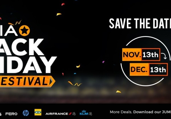 Jumia set to sweep Nigerians off their feet with up to 80% discount on Black Friday sales, free flight tickets to Europe, a free car & more giveaways