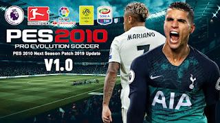 PES 2010 Next Season Patch 2018/2019