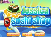 juegos de cocinar jessica sushi shop