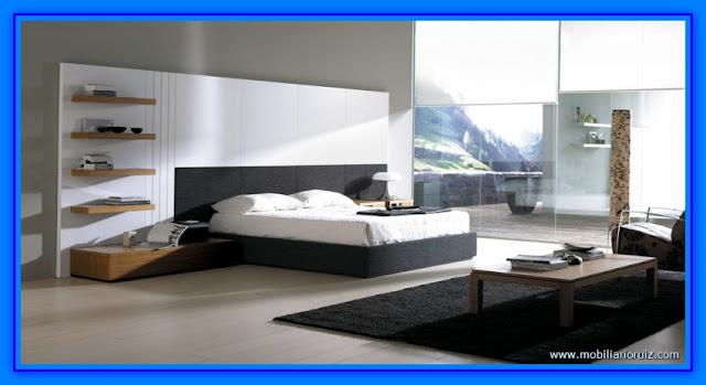 Fotos de dormitorios matrimoniales modernos web del for Tipos de camas matrimoniales