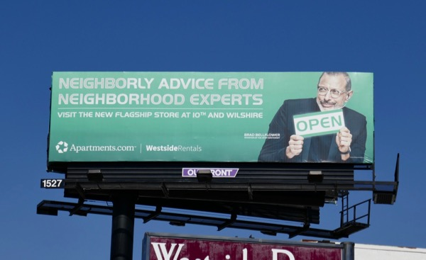 Neighborly advice experts Apartment Westside Rentals billboard