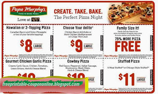 Free Printable Papa Gino's Coupons