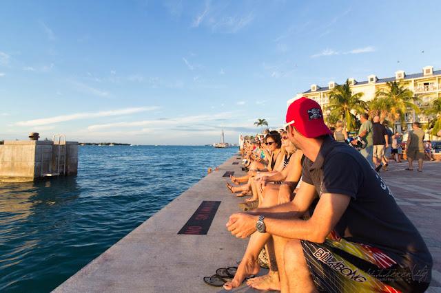Typisch Key West, Florida - Mallory Square, Sonnenuntergangsspektakel - dipitontour