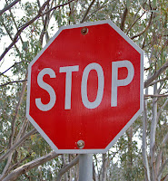 """STOP sign"" by Bidgee - Own work. Licensed under CC BY 3.0 via Wikimedia Commons - http://commons.wikimedia.org/wiki/File:STOP_sign.jpg#/media/File:STOP_sign.jpg"