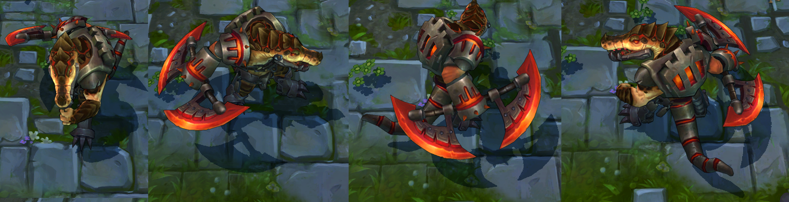 Surrender at 20: 1/7 PBE Update: New Alistar Ability Icons ...  |Renekton Ability Icons