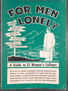 "The green cover of ""For Men Lonely."""