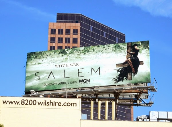 Salem season 2 Witch War billboard