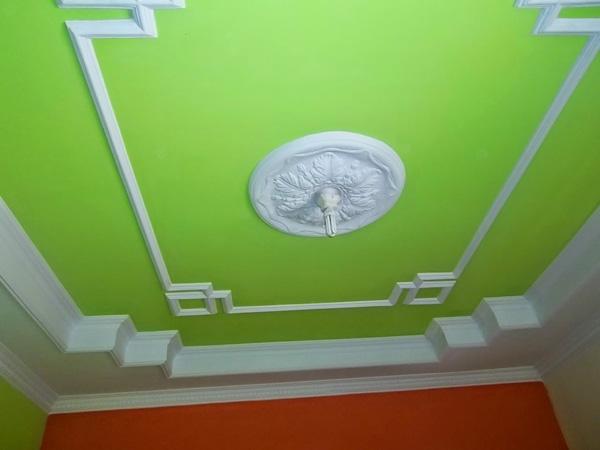 desain plafon gypsum minimalis terbaru