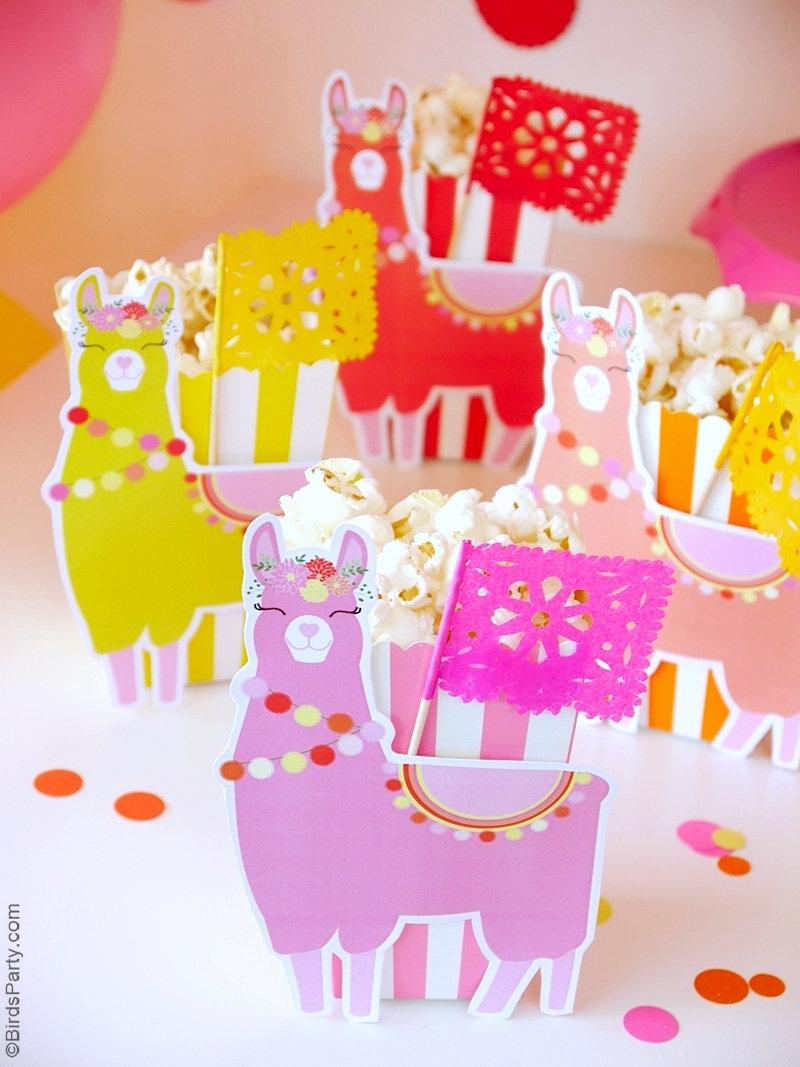 Une Fête d'Anniversaire Thème Lama - printables, idées décoration, recettes et projets créatifs pour vous aider dans la préparation d'un goûter anniversaire! by BirdsParty.com @birdsparty #lama #lamaparty #anniversairelama #ideesanniversaure #gouteranniversaire #lamagouteranniversaire