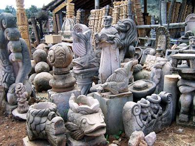 Venta de Esculturas de Cantera en la Región del Lago de Pátzcuaro