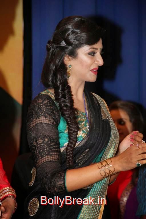 Vimala Raman Pics, Vimala Raman Hot HD Pics in Black Saree from Young India Awards