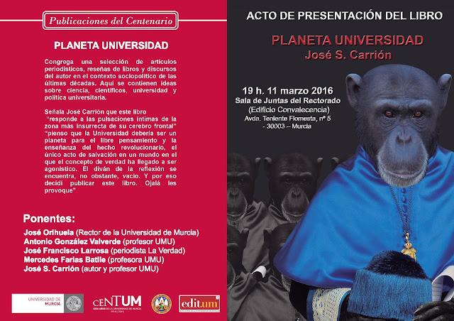 """Presentación del libro: """"Planeta Universidad""""."""