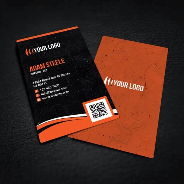Free Rounded Corner Business Card Design