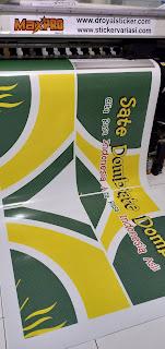 cetak sticker branding mobil-motor