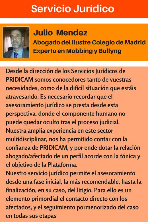 MobbingMadrid Servicio Jurídico