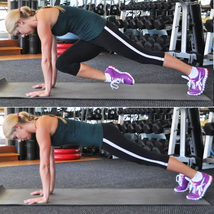 6 Moves for Flat, Sexy Abs Belly-Blasting Workout