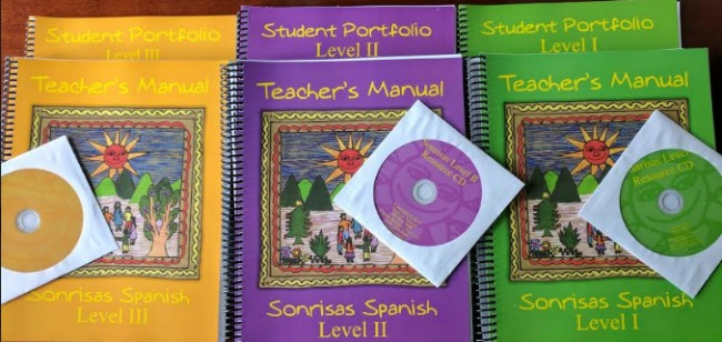 Sonrisas Spanish for Elementary & Middle School