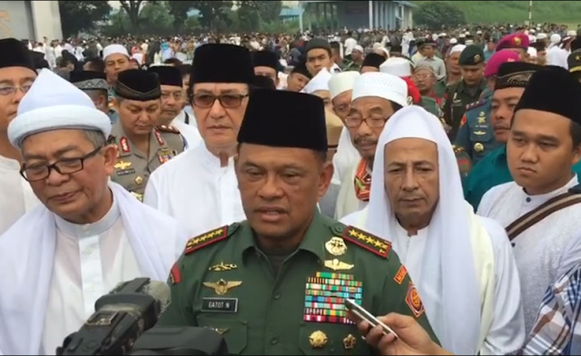 Panglima TNI: Wujudkan Bangsa Pemenang bersama Para Ulama