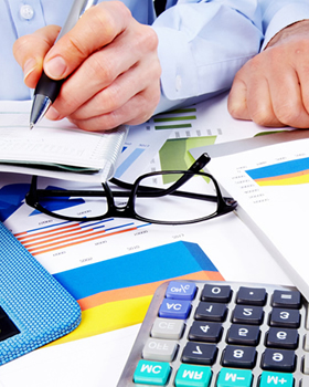 Business finance accounts and credit improvement