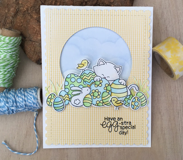 Have an egg-stra special day by Sue features Newton's Easter Basket by Newton's Nook Designs; #newtonsnook